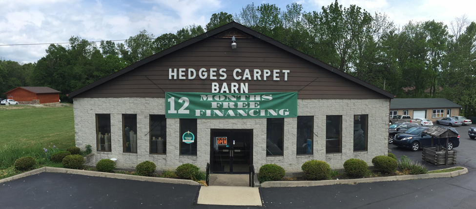 Welcome to Hedges Carpet Barn, LLC in Logan
